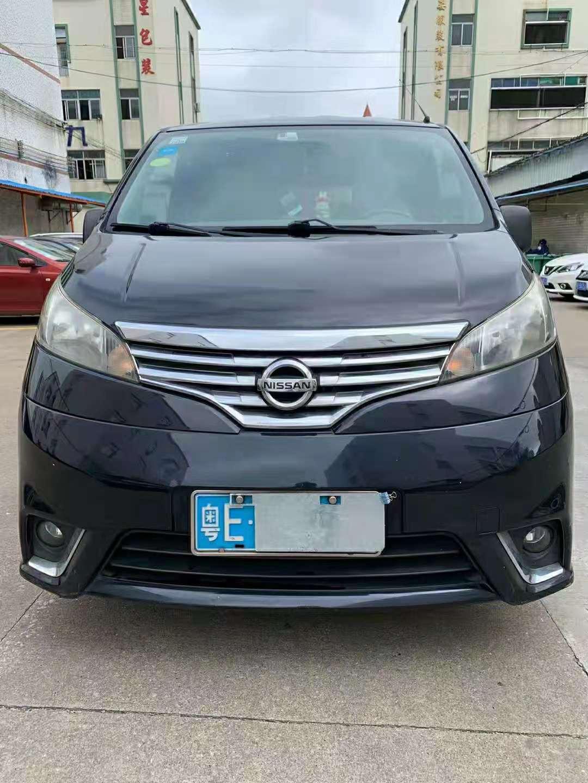 2014年6月郑州日产NV200 1.6L自动七座豪华版
