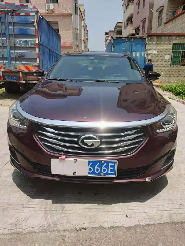 2016年11月广汽传祺GA6 1.5T自动235T精英版