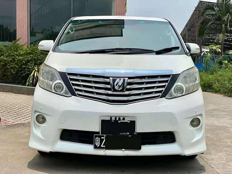 2012年1月进口丰田埃尔法3.5L自动豪华版
