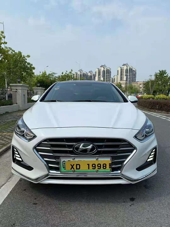 2019年7月北京现代索纳塔2.0L自动插电混合智联版